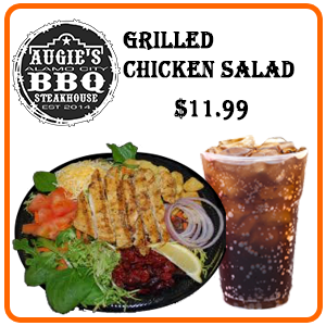 combo grilled chicken salad